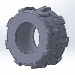 Télécharger fichier 3D gratuit Pneu tracteur, Lys