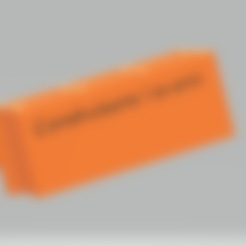 Free Block / cinderbrick 3D printer file, Lys