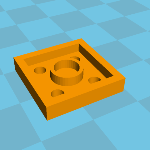 lego2.PNG Download free STL file Plate 2x2 lego • Design to 3D print, Lys