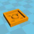 Free stl Plate 2x2 lego, Lys