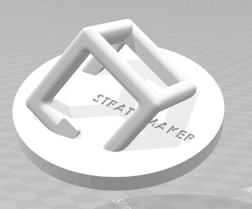 Capture.PNG Download free STL file Mascot STRATOMAKER • 3D printing template, Lys