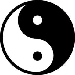 Free stl file Yin & Yang, Lys