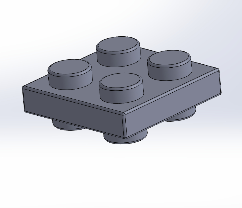 Capture.PNG Download free STL file Lego double plate 2x2 • 3D printer object, Lys