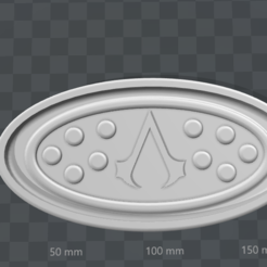 Download free 3D printer designs Assassin's Creed soap dish, Lys