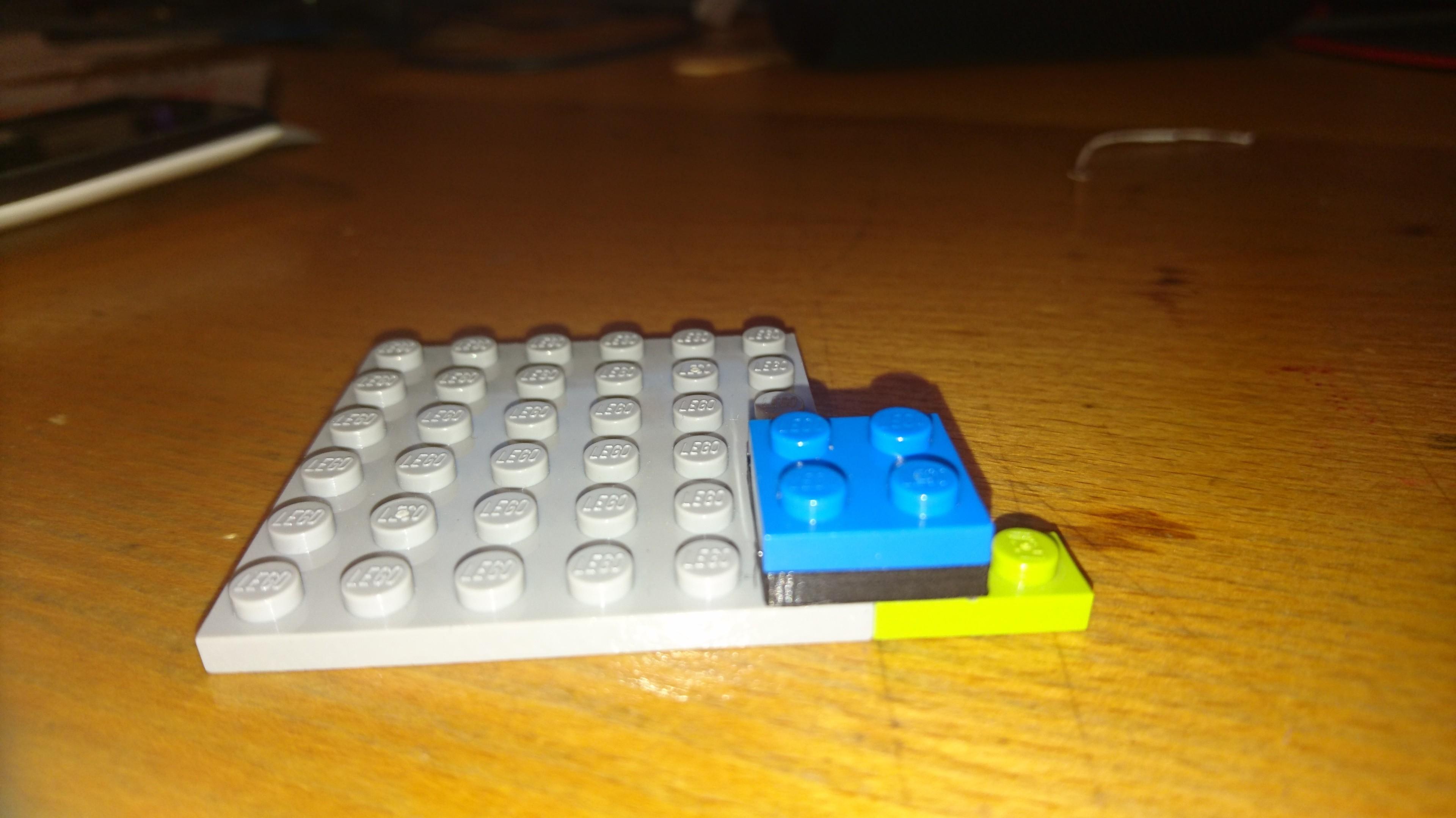 DSC_0001.JPG Download free STL file Plate 2x2 lego • Design to 3D print, Lys