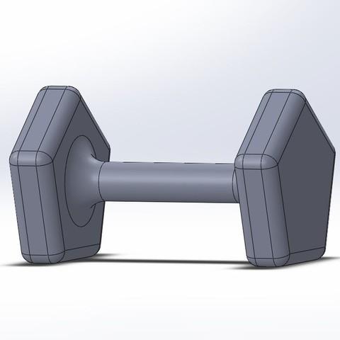 Capture.JPG Download free STL file Sand dumbbell • 3D printer model, Lys