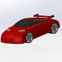 Free 3D model Sporty bugatti style car, Lys