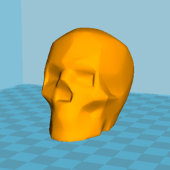 Download free STL file Skull, Lys