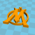 Free stl file OM Logo, Lys