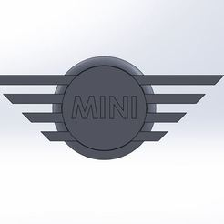 Free 3D print files Mini Logo, Lys