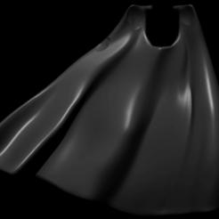 cape2.png Download free STL file Lieutenants Cape • 3D printable template, Rethonn