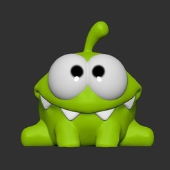 Download free 3D printing models om nom, SparkyFace5