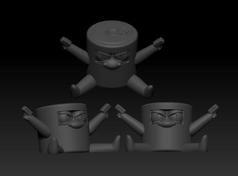 soup tin kelly.JPG Download free STL file Soup Tin Kelly • Object to 3D print, SparkyFace5