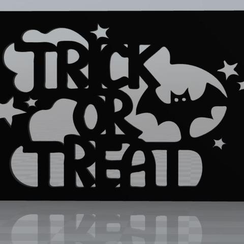 Free 3d printer model Trick or Treat magnet, MisterDiD