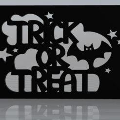 Free 3D printer file Trick or Treat magnet, MisterDiD