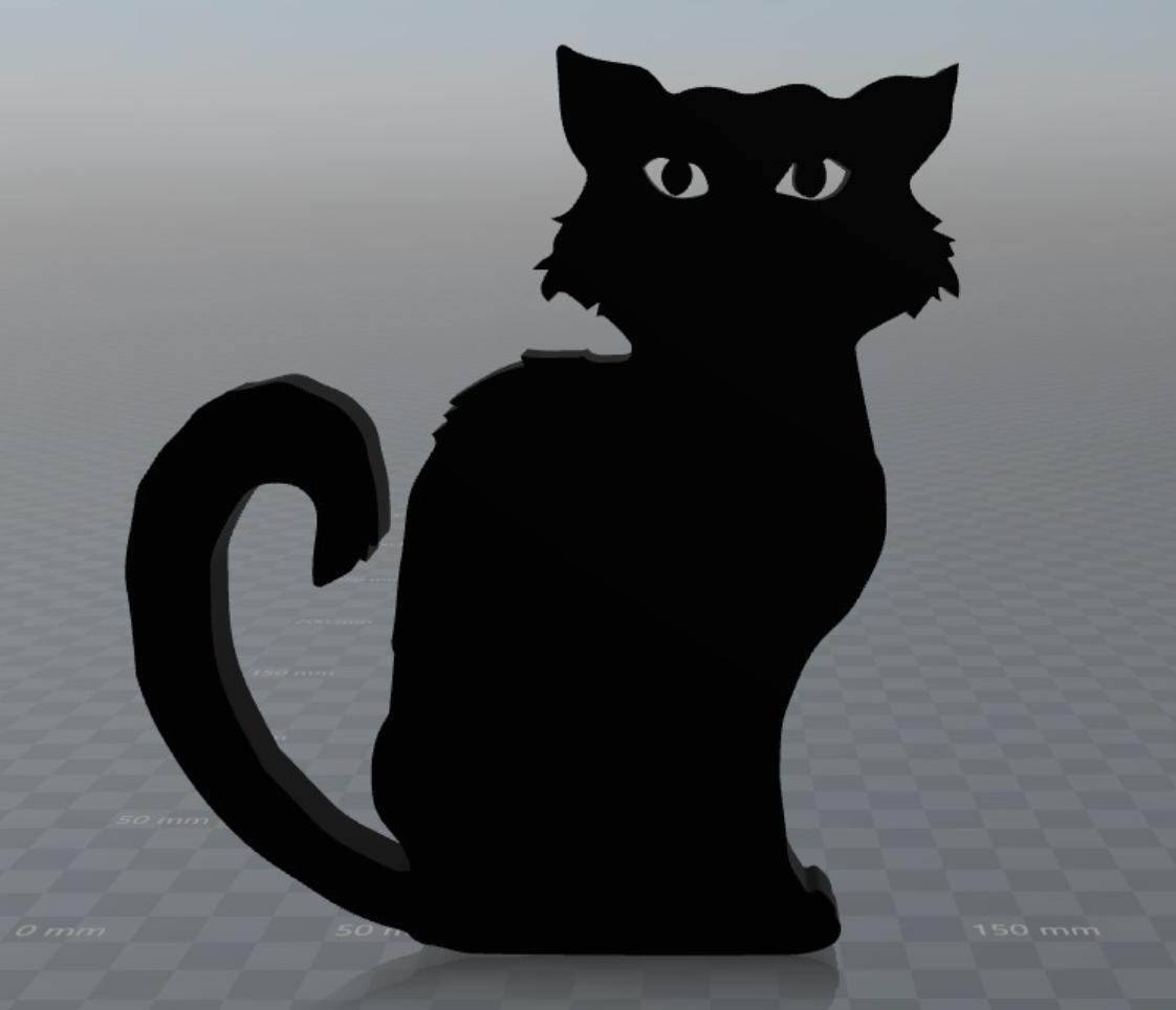 Capture d'écran 2017-09-29 à 16.21.03.png Download free OBJ file Black cat • 3D printer model, MisterDiD