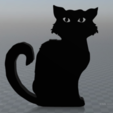 Download free 3D printer designs Black cat, MisterDiD