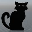 Capture d'écran 2017-09-29 à 16.21.03.png Télécharger fichier OBJ gratuit Chat noir • Plan pour impression 3D, MisterDiD
