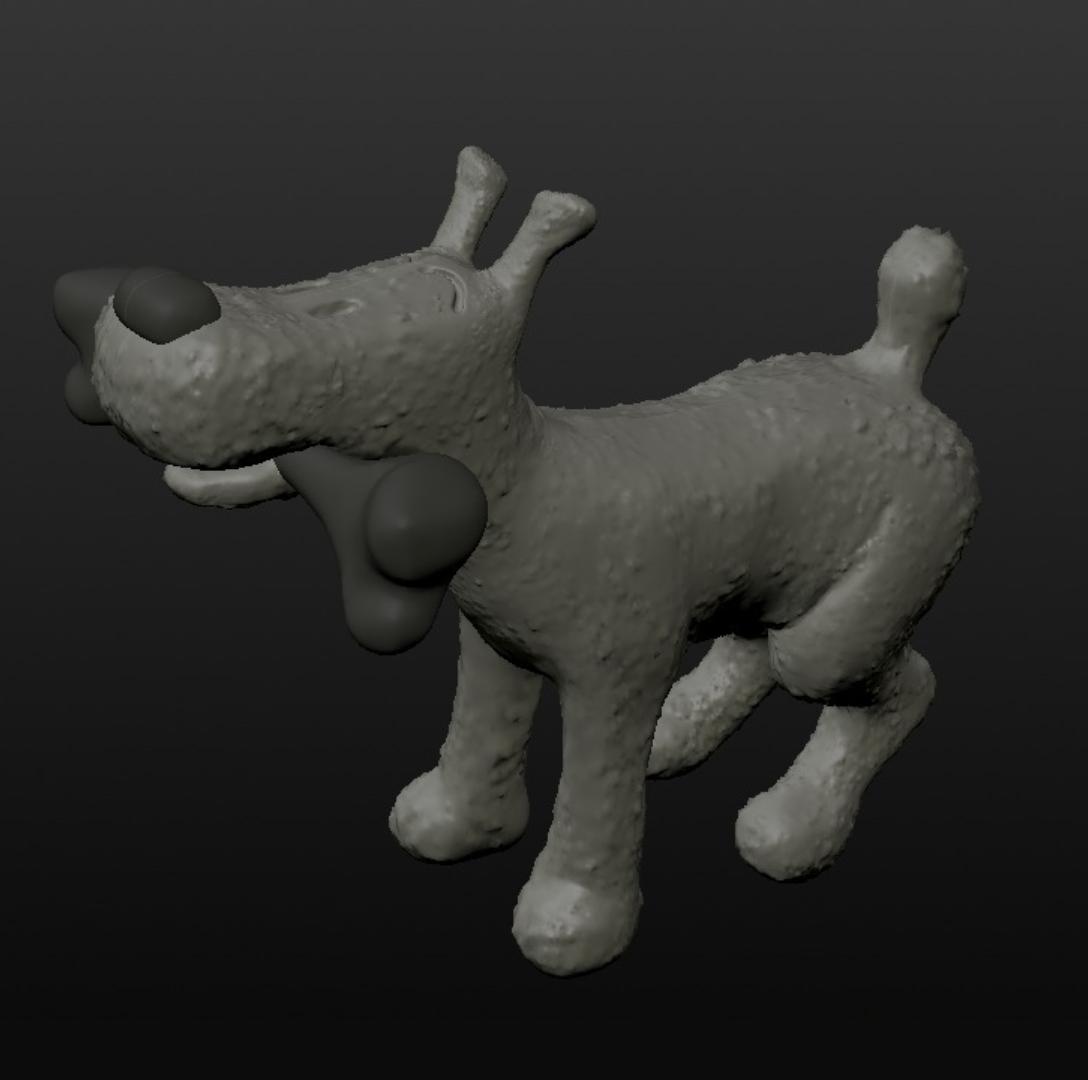 Capture d'écran 2017-09-29 à 11.22.28.png Download free OBJ file comic dog belgium • 3D printing model, MisterDiD