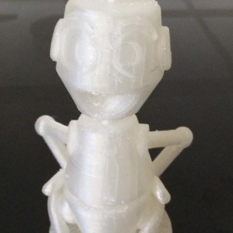Télécharger modèle 3D gratuit buste de Nono le petit robot, MisterDiD