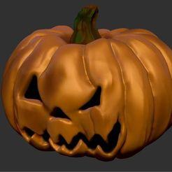 citrouille_34.jpg Télécharger fichier STL gratuit citrouille d'halloween • Design imprimable en 3D, MisterDiD
