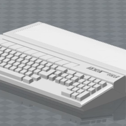 Free ATARI 520 Ste 3D printer file, MisterDiD