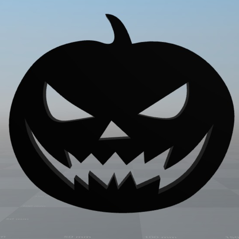 Free 3d model Halloween Pumpin, MisterDiD
