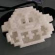 Free 3d printer files Donkey kong head pixelart, MisterDiD