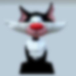 Download free STL files The Gaston Lagaffe Cat, MisterDiD