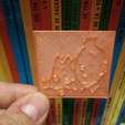 Free stl Magnet Tintin et Milou, MisterDiD