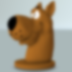 scooby_doo.obj Download free OBJ file Scooby bust • 3D printer model, MisterDiD