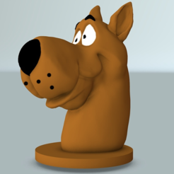 Download free 3D printer designs Scooby bust, MisterDiD