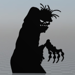 Free 3D printer file Zombie (graph made by Lowe), MisterDiD