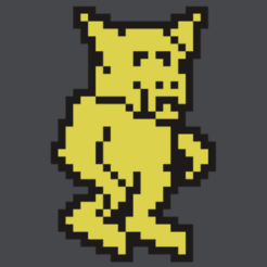 Free knight lore sprite 3D model, MisterDiD
