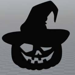 Download free STL file Halloween Pumpkin, MisterDiD