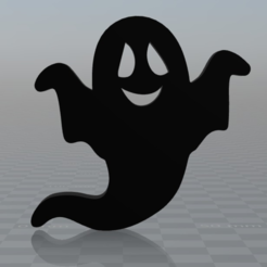Free 3D printer designs HApPy GHost, MisterDiD