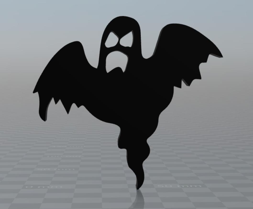 Capture d'écran 2017-09-29 à 16.17.31.png Download free OBJ file Ghost Halloween magnet • Model to 3D print, MisterDiD