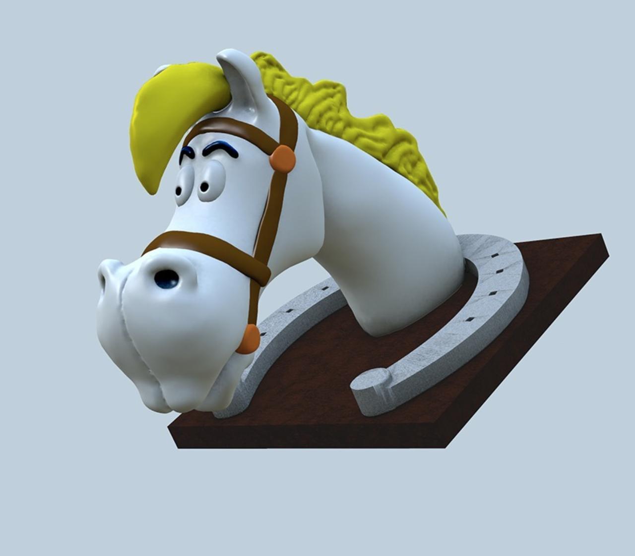 Capture d'écran 2017-09-29 à 12.16.12.png Télécharger fichier OBJ gratuit Cheval de Lucky Luke : Joly Jumper • Modèle pour impression 3D, MisterDiD