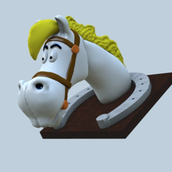 Download free 3D printing designs Lucky luke horse : Joly Jumper, MisterDiD