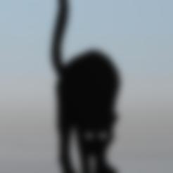 Download free 3D printing models Black cat 3, MisterDiD