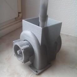 3D print model turbo pencil holder, ErwinVa