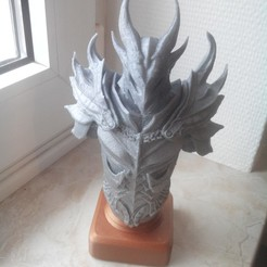Download 3D printer designs daedra bust, ErwinVa