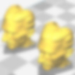 tesla head clip.stl Download free STL file Z axis alignment aid with Nikola Tesla • 3D print object, jasso