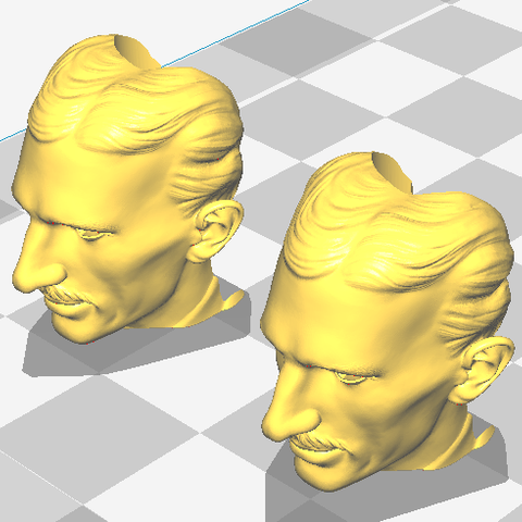 tesla.PNG Download free STL file Z axis alignment aid with Nikola Tesla • 3D print object, jasso