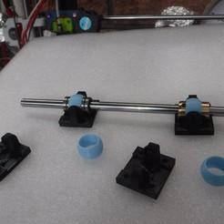 modelo stl montaje de buje autoalineable para impresora 3D, jasso