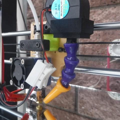 DSCF7574.JPG Download STL file hotend backplate for Anet A8 • 3D print design, jasso