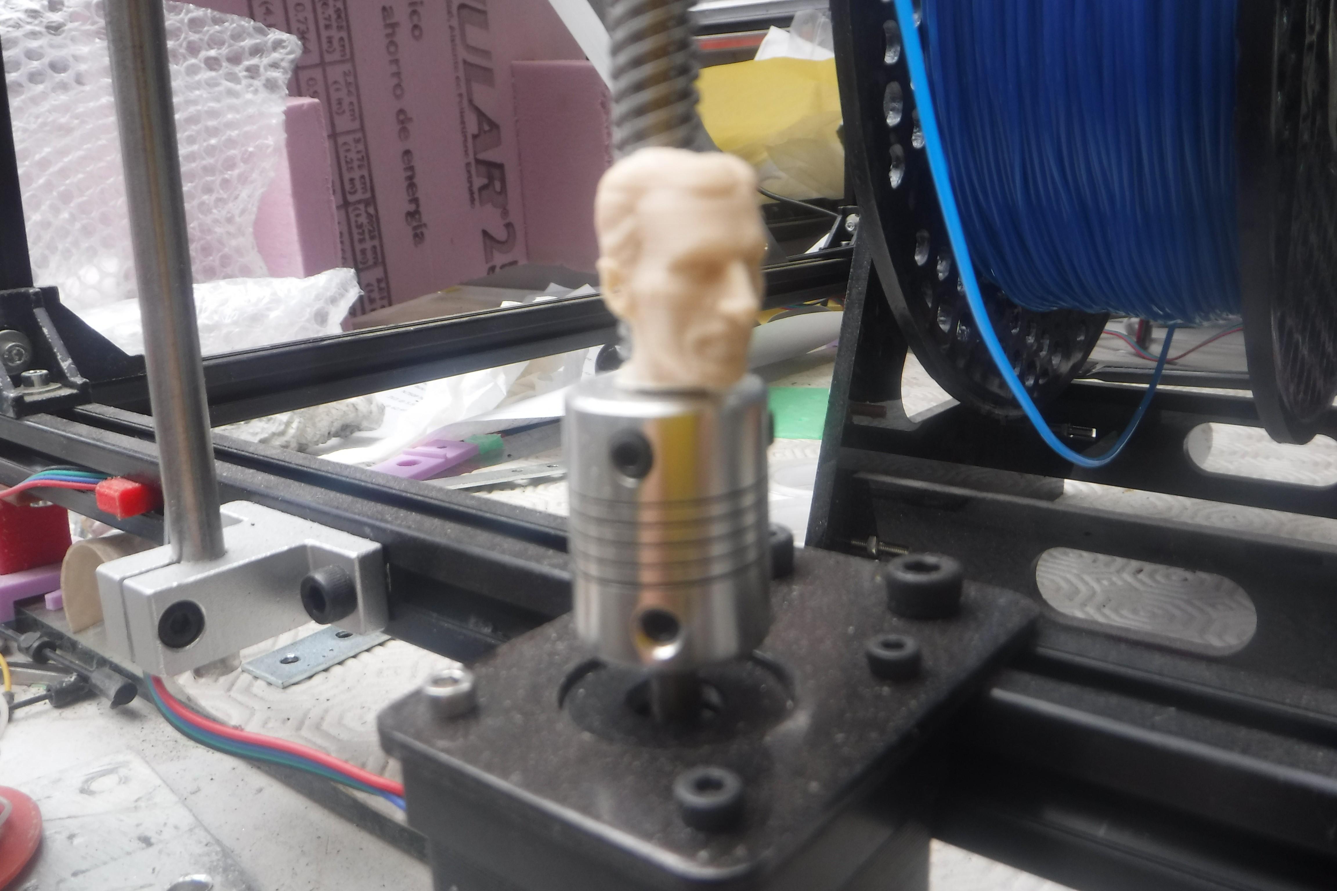 DSCF7519.JPG Download free STL file Z axis alignment aid with Nikola Tesla • 3D print object, jasso