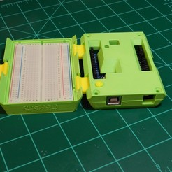 ARDUINO UNO PORTABLE LAB CASE 3D model, steve220