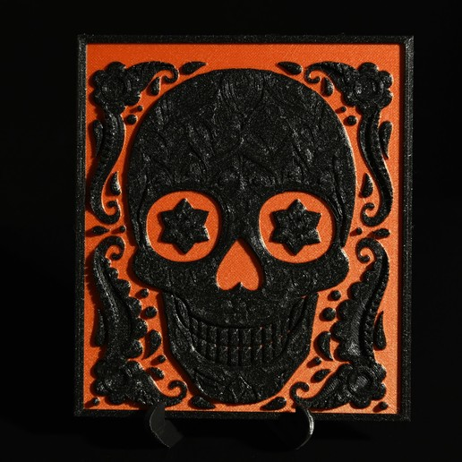 Download free STL file Skull, steve220