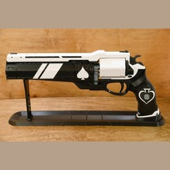 Download 3D printing models Ace of Spades Exotic Hand Cannon, steve220